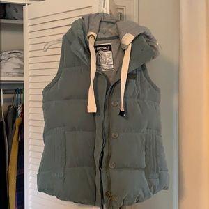 SLeY Blue puffy vest